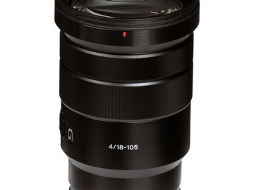 Rent: Sony 18-105mm t4