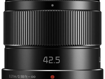 Rent: Panasonic LUMIX G 42.5mm f/1.7 Lens ASPH (micro 4/3 mount)