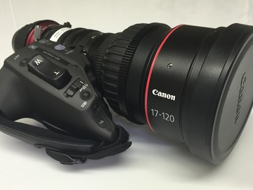 Rent: Canon 17-120mm (PL Mount)  with Servo Unit