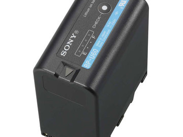 Rent: Sony BPU batteries