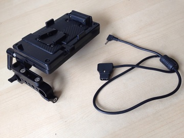 Rent: BMPCC P-Tap Power Cable & V-Lock Battery Plate