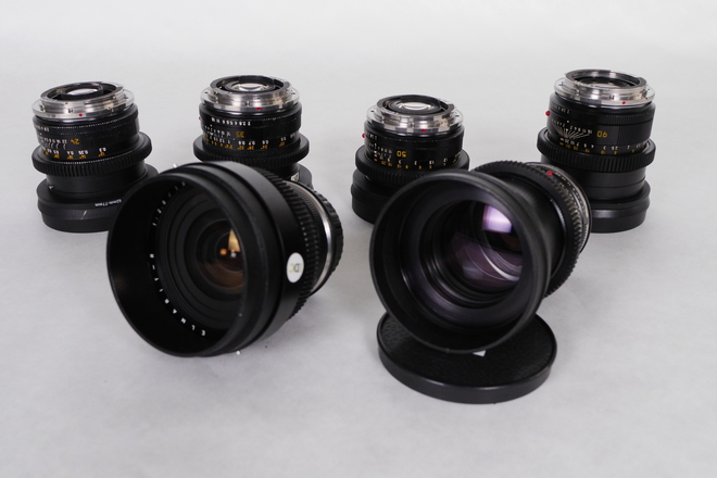 Leica R Cine-Mod Primes Set EF (6 Lens)