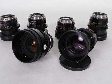 Rent: Leica R Cine-Mod Primes Set EF (6 Lens)