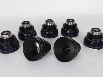Rent: Zeiss Compact Primes 7 Lens Set