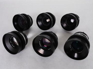 Rent: Nikon Cine-Mod 6 Lens Set