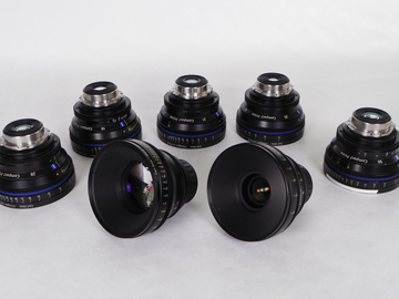 Zeiss Compact Primes 5 Lens Set (Pick 5)