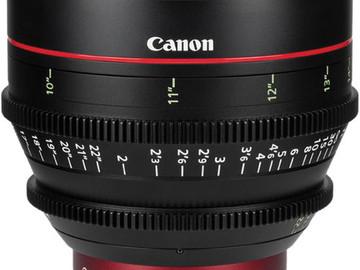 Rent: Canon CN-E 24, 50, 85 mm
