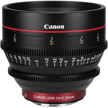 Canon CN-E Cinema Prime Lenses 24mm