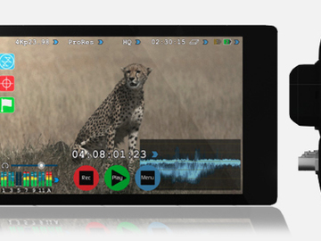 "Rent: Atomos Shogun 4K HDMI/12G-SDI Recorder and 7"" Monitor Kit"