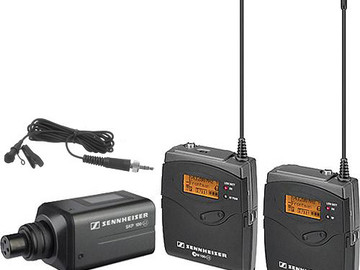 Rent: Sennheiser EW100 Wireless Lavalier Mic Systems (1 of 2 )