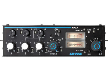 Rent: Shure FP-33 3 Channel Mixer