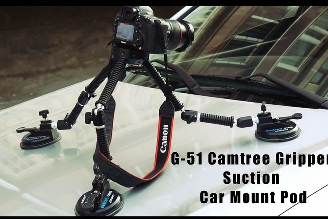 CAMTREE G-51 Gripper Car Suction Mount