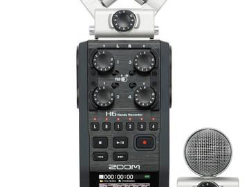 Rent: Zoom H6 Handy Recorder with Interchangeable Microphones