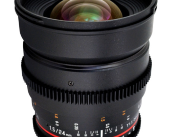 Rent: Rokinon Cine Lenses