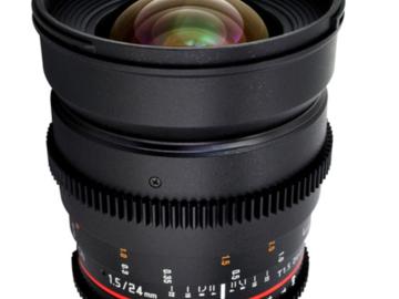 Rent: Rokinon Cine Lenses