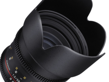 Rent: The Sony E mount Rokinon 50mm T1.5 Cine AS UMC Lens was deve