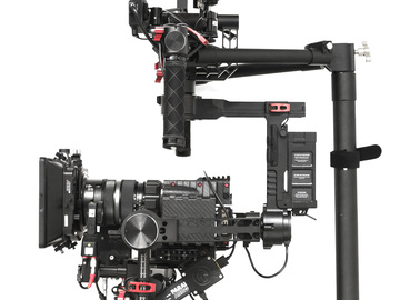 Rent: DJI Ronin w/ Cinemilled Extension Arms, 3 Batts, & Ring Grip