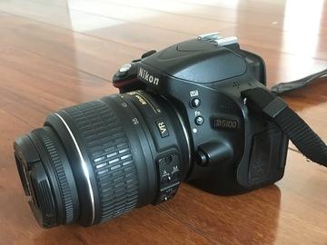 Rent: Nikon d5100