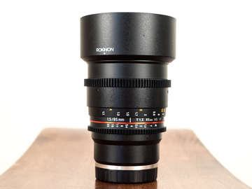 Rokinon 85mm T1.5 Cine lens / E-Mount for Sony