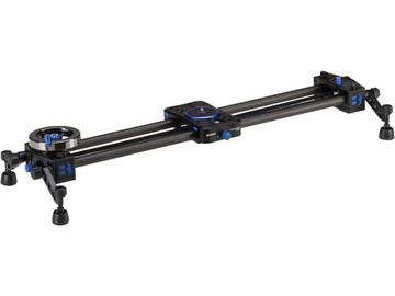 "Rent: Benro MoveOver12 23.6"" Dual Carbon Rail Slider with Flywheel"