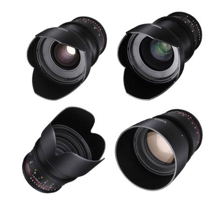 Rokinon Cine DS Lens Kit 24m, 35m, 50m, 85m, Tokina 11-16