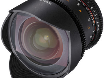 Rent: Rokinon 14mm T1.5 Cine Lens for Canon EF
