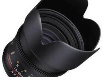 Rent: Rokinon 50mm T1.5 Cine Lens for Canon EF