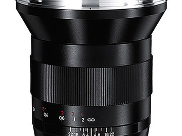 Rent: Zeiss 21mm EF Lens
