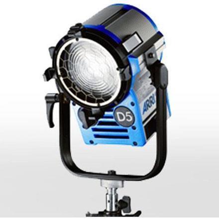 Arri D5 Fresnel 575 watt HMI with Electronic Ballast