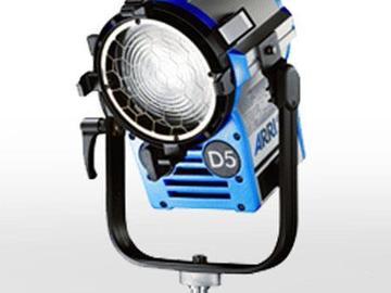 Rent: Arri D5 Fresnel 575 watt HMI with Electronic Ballast