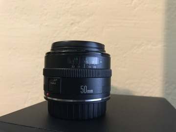 Rent: Canon EF 50mm f/1.8USM Lens
