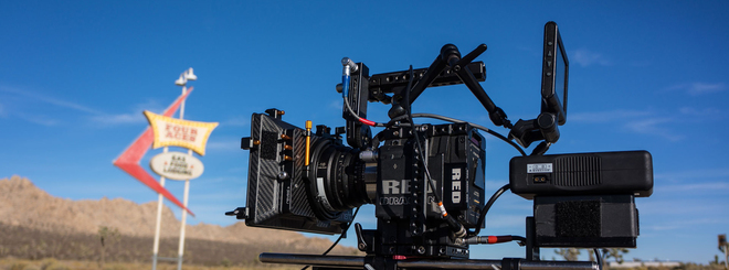 Bright Tangerine Misfit Mattebox, includes rota pola