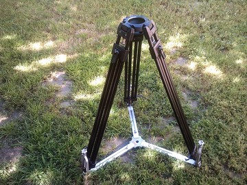 Rent: Manfrotto 7-piece kit Cine tripod complete support package