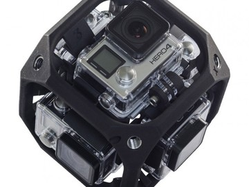 Rent: VR 360 Cam Pkg: Freedom 360 Explorer + GoPro Hero 4 Black