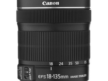 Rent: Canon 18-135 f/3.5-5.6 STM Zoom Lens