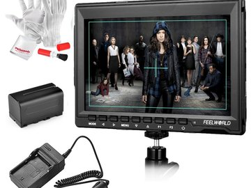 Rent: Feelworld FW759 7 Inche Ultra HD IPS 1280x800 Field Monitor