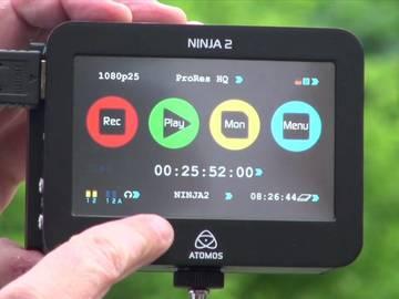 Rent: Atomos Ninja 2 External Recorder w Monitor