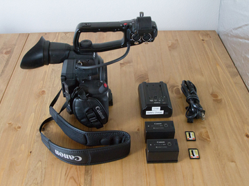 Rent: Canon C100 Mark 2 Camera Body Package
