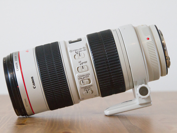 Rent: Canon EOS 70-200mm IS 2.8 L with UV Filter