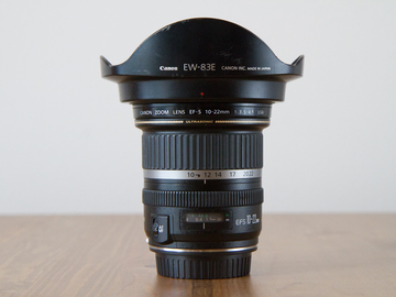 Rent: Canon EOS EF-S 10-22mm f/3.5-4.5 with UV Filter