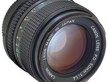 Rent: Canon 50mm F/1.4 FD Mount (VINTAGE LENS)