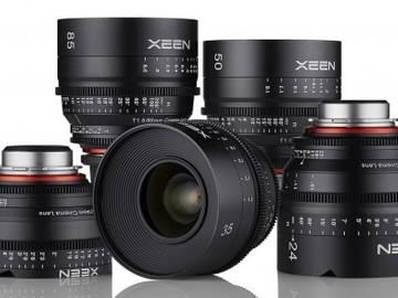 Rent: XEEN Cinema Prime EF Lens Kit (14,24,35,50,85)