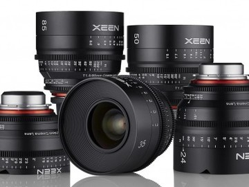 XEEN Cinema Prime EF Lens Kit (14,24,35,50,85)