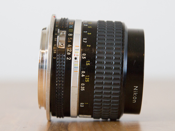 Rent: Nikon 35mm f/2 (Nikon/Canon Mount)