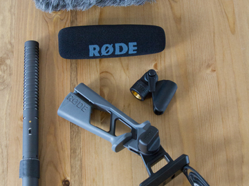 Rent: Rode NTG-2 Shotgun Audio Package