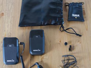 Rent: Rode Wireless Lav Kit