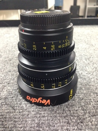 Veydra 12mm Lens (Micro Four Thirds mount)