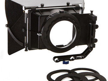 "Rent: SHAPE 2-Stage 4 x 4"" Matte Box"