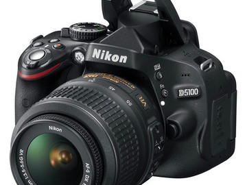 Rent: Nikon D5100 with 18-55 mm Kit Lens & 55-200 mm Lens