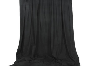 Rent: Muslin Background - 10 x 12' (Black)